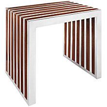 Small Wood Inlay Bench, 8805631