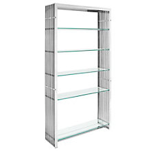 Stainless Steel Bookshelf, 8805635