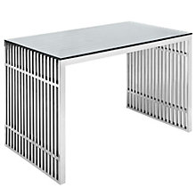 Stainless Steel Office Desk, 8805653