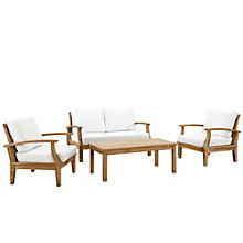 4 PC Outdoor Patio Teak Sofa S, 8805670