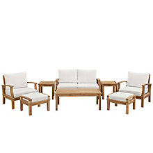 8 PC Outdoor Patio Teak Sofa S, 8805673