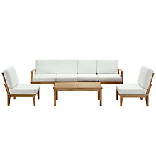 7 PC Outdoor Patio Teak Sofa S, 8805680