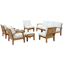 9 PC Outdoor Patio Teak Sofa S, 8805683