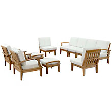 10 PC Outdoor Patio Teak Sofa , 8805684