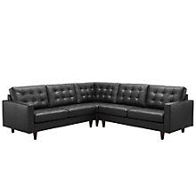 3 PC Leather Sectional Sofa Se, 8805728