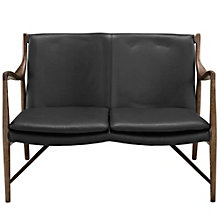 Leather Loveseat, 8805823