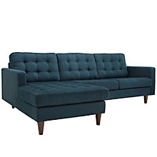 Left-Facing Upholstered Sectio, 8805825