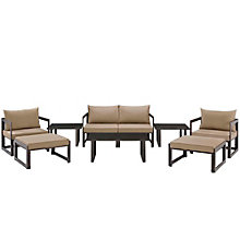 9 PC Outdoor Patio Sectional S, 8805859