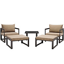 5 PC Outdoor Patio Sectional S, 8805862