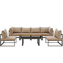 7 PC Outdoor Patio Sectional S, 8805869
