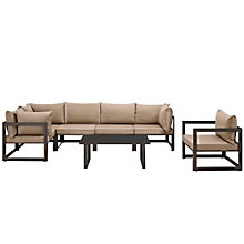 7 PC Outdoor Patio Sectional S, 8805873