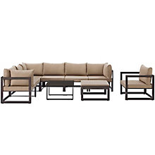 9 PC Outdoor Patio Sectional S, 8805874