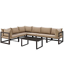 7 PC Outdoor Patio Sectional S, 8805877