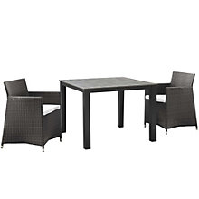 3 PC Outdoor Patio Wicker Dini, 8805881