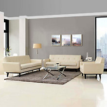 3 PC Leather Living Room Set, 8805902