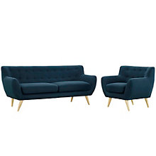 2 PC Sofa and Chair Set, 8805923