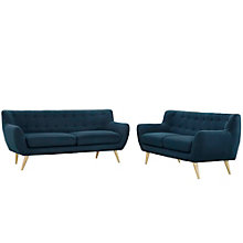 2 PC Sofa  and Loveseat Set, 8805924