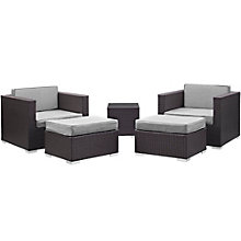 5 PC Outdoor Patio Sectional S, 8805950