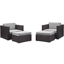 4 PC Outdoor Patio Sectional S, 8805952