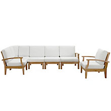 6 PC Outdoor Patio Teak Sofa S, 8805954