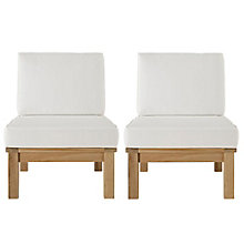 2 PC Outdoor Patio Teak Sofa S, 8805960
