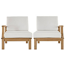 2 PC Outdoor Patio Teak Sofa S, 8805961