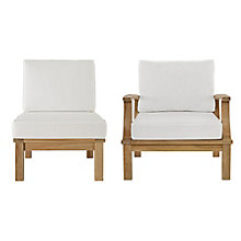 2 PC Outdoor Patio Teak Sofa S, 8805962
