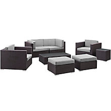 8 PC Outdoor Patio Sectional S, 8805971