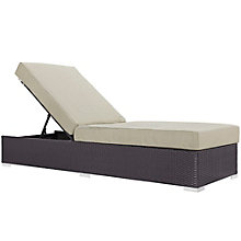 Outdoor Patio Chaise Lounge, 8805983
