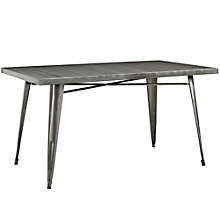 Metal Dining Table, 8806146