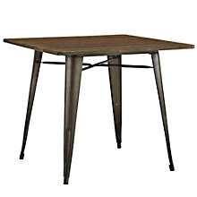 "36"" Square Wood Table, 8806149"