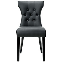 Tufted Vinyl Side Chair, 8806562