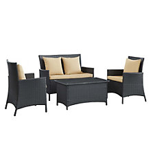4 Piece Outdoor Patio Sofa Set, 8806630