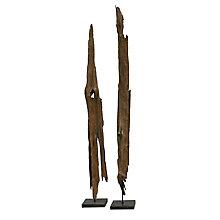 Drift Wood Art On Rough Marble, 8808457