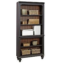 """Grandview Two Tone Five Shelf Bookcase - 32""""W, 8813926"""