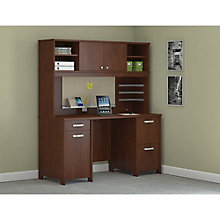 Envoy Double Pedestal Desk and Hutch set, 8822623