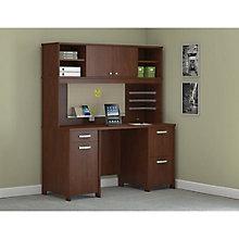 Envoy Double Pedestal Desk and Hutch set, 8822623