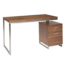 "Martos Single Pedestal Desk - 47""W, 8804859"
