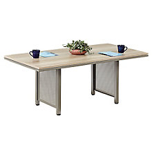 "96"" W x 42"" D Conference Table in Warm Ash, 8804247"