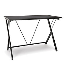 "Essentials Compact Metal Leg Computer Desk - 42""W, 8826041"