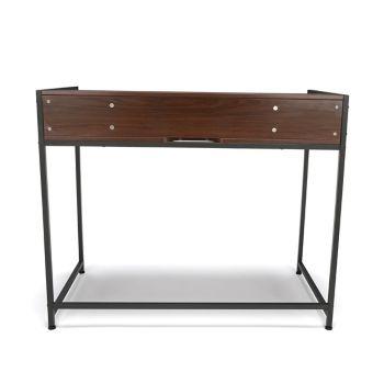 Essentials Compact Metal Frame Computer Desk 44w