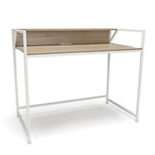 "Essentials Compact Metal Frame Computer Desk - 44""W, 8826042"