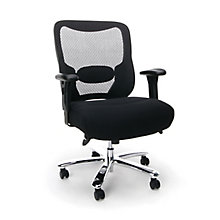 Big & Tall Mesh Chair w/Arms, 8811096