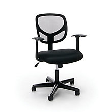 Mesh Task Chair with Arms, 8811097