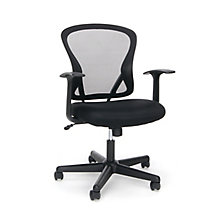 Mesh Task Chair with Arms, 8811098