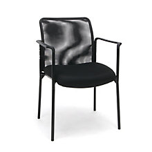 Mesh Stack Side Chair w/Arms, 8811111