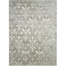 "Neutral Damask 5'3"" x 7'3"", 8820305"