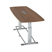 """Focal Upright Confluence Height Adjustable Conference Table 94""""W x 36""""D, 8807799"""