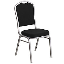 Black Banquet Stack Chair, 8812028