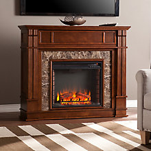Electric Media Fireplace , 8820803